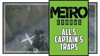 Metro Exodus Sam's Story All Captain's Trap Locations Trapper Trophy-1582363637