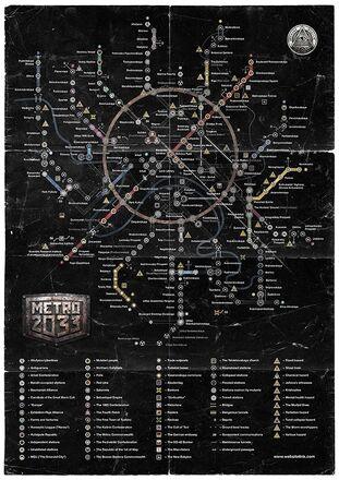 Carte la Metro 2033