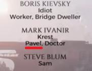 Pavel (credits)