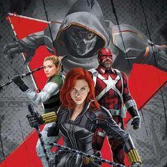 Alternatywny plakat w wersji komiksowej