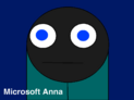 Microsoft Anna's Custom Night Icon