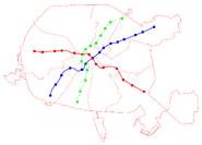 Проект развития Минского метро