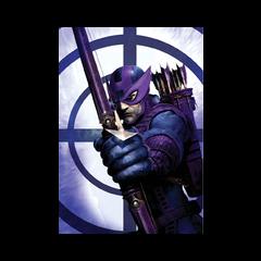 Bullseye w roli Hawkeye'a