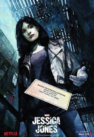 Plakat Marvel's Jessica Jones