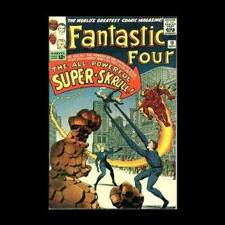 Na okładce komiksu