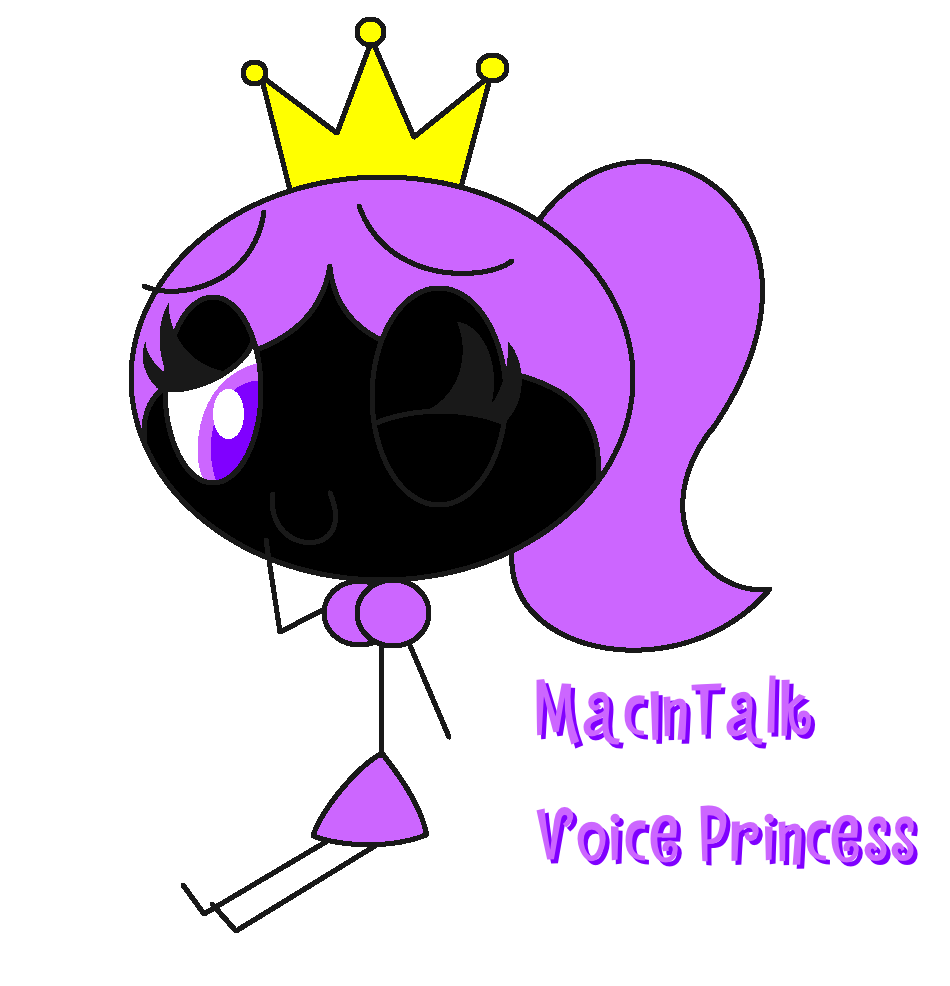 MacInTalk Voice Princess | Microsoft Sam and his Fellow ...