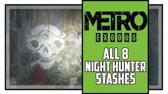 Metro Exodus Sam's Story All Night Hunter's Stashes Locations Great Owl Trophy-1