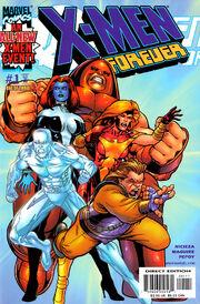 X-Men Forever Vol 1 1 (1)