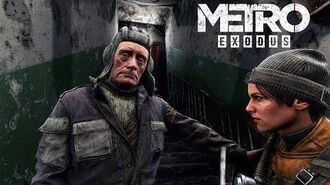 Metro Exodus - Chapter 1 - Moscow - 4K - No Commentary