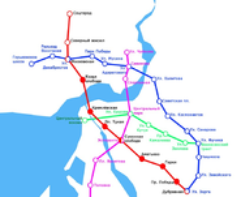 План развития Казанского метро