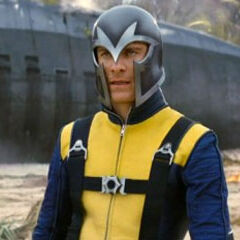 Młody Magneto z <a href=