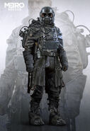Miller Winter Suit Concept Art
