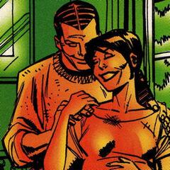 Z żoną, Emily Osborn