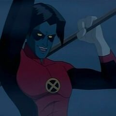 Nightcrawler z kreskówki Wolverine & The X-men