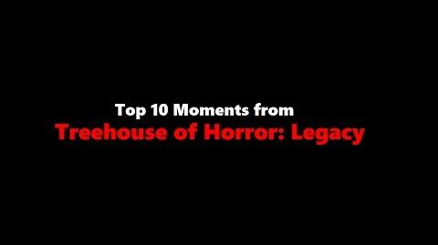 Top 10 Moments from Treehouse of Horror- Legacy