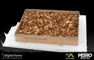 Ящик с грибами