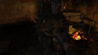 Хантер отдаёт Артёму открытку