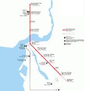 Довоенная схема Казанского метро