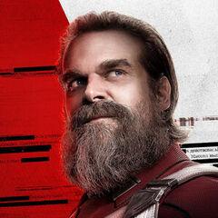 Plakat Red Guardian bez napisów