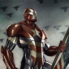 Norman Osborn jako Iron Patriot