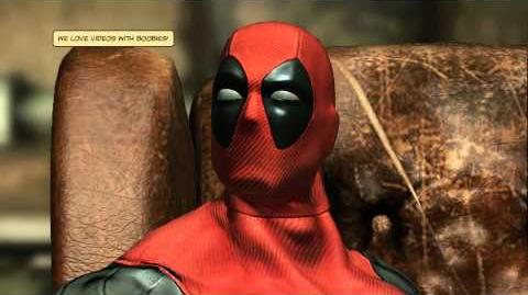 Deadpool Video Game Trailer