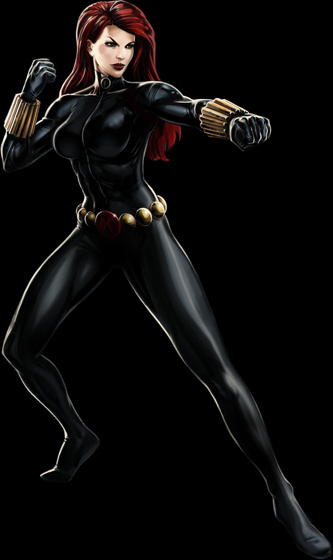 Изображение - Black Widow Portrait Art.png   Marvel ...