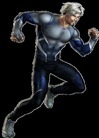Avengers Age of Ultron Quicksilver Portrait Art