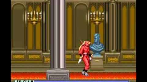 The Ninja Warriors (SNES) - Longplay-0