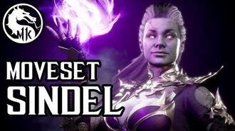 Mortal Kombat 11 - Sindel Moves Guide w. Inputs DLC, Uncensored