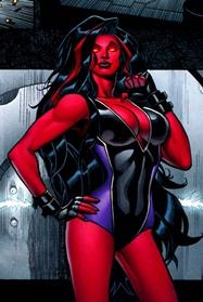 Classic red she hulk