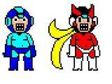 MSG Megaman and Zero/russgamemaster