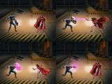Captain America vs Scarlet Witch Heroic Battle