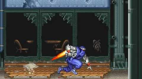 SNES Longplay 185 Ninja Warriors Again