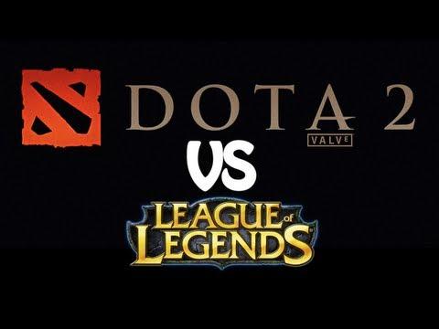Special Operations - DOTA2 vs League of Legends   Marvel