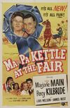 Ma and Pa Kettle at the Fair movie poster