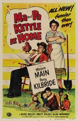 Ma and Pa Kettle At Home poster