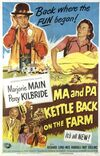 Ma and Pa Kettle Back on the Farm movie poster