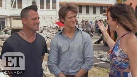 On The Set Of 'Hawaii Five-0' And 'MacGyver' Crossover Episode