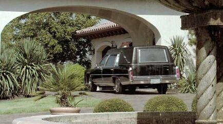 Cadillac Brougham Funeral Coach
