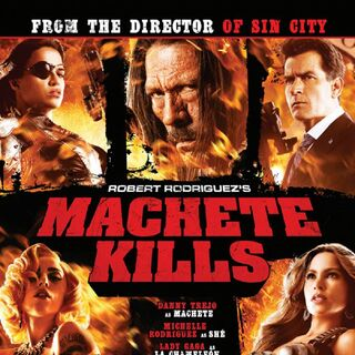 One of the most impressive casts ever assembled in the explosive Machete Kills.
