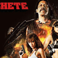 Machete, Luz and Sartana wallpaper.