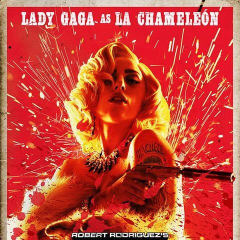 Poster of La Camaleón.