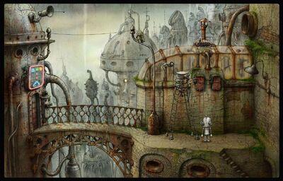 15. Arcade Bridge
