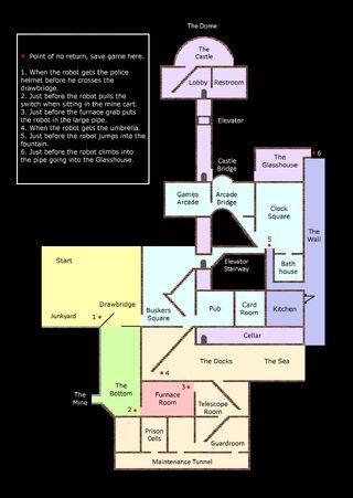 Levels map 1 - black