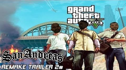 GTA V TRAILER 2 IN SAN ANDREAS