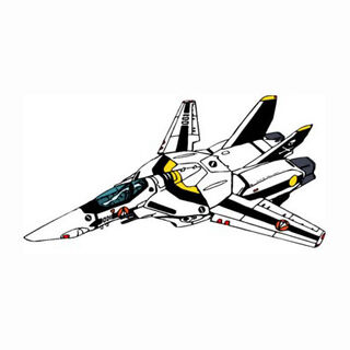 Fighter mode in Roy Focker/Hikaru Ichijyo colors