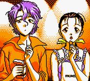 Macross 7 GB- Sally And Miho