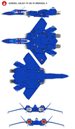VF22S Fighter-Left-Top-Bottom-Front-Back