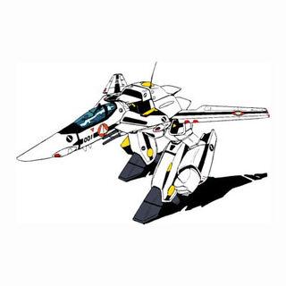 GERWALK mode in Roy Focker/Hikaru Ichijyo colors