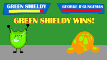 Green Shieldy Wins the Battle